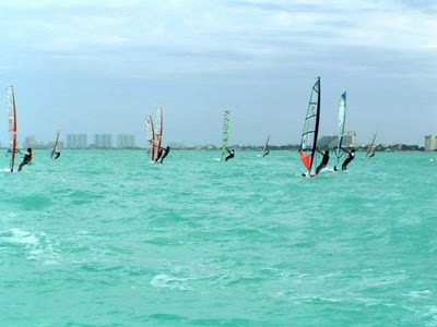 cancun windsufing midwinters 2010