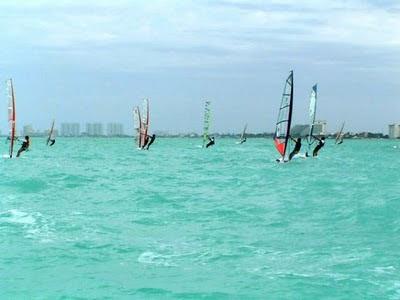 cancun windsufing midwinters 2010