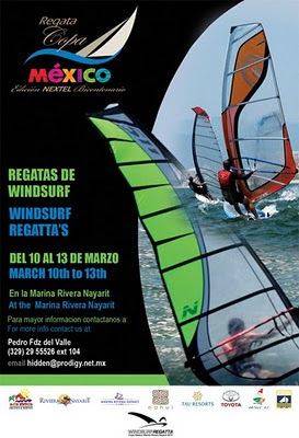 regata copa mexico windsurf