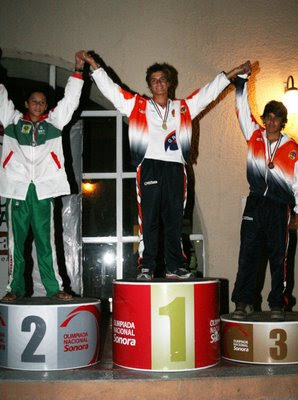 olimpiada nacional 2009 juvenil varonil menor