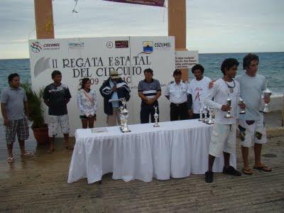 Premiacion Regata Cozumel 2009