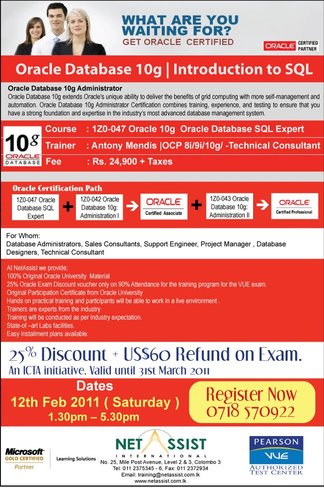sql expert All the advanced subjects that you need for sql expert certification over 120+  lectures, 11,5+ hours content write advanced sql codes.