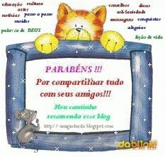 OFERTA  DA  QUERIDA   SANDRA  DO  BLOG  MEUS  MIMOS...!