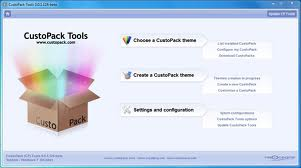 CUSTOPACK TOOLS WINDOWS 7