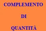 10 FRASI CON COMPLEMENTO DI QUANTITÀ