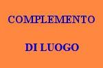 10 FRASI CON COMPLEMENTO DI LUOGO