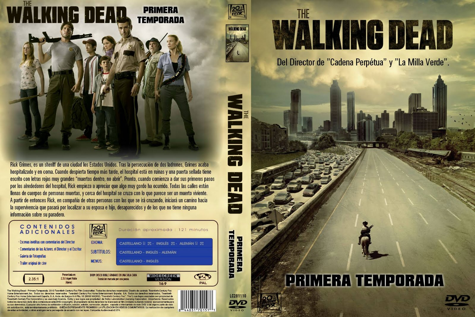 the walking dead primera temporada