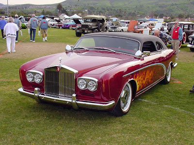 Rolls Royce Chop Top Hot Rod