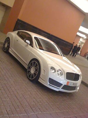 Bentley Spotting Bentley Continental Gt Speed By Mansory