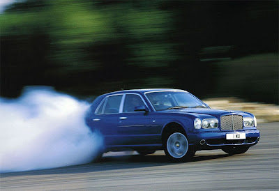 Bentley Arnage Drifting