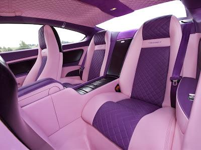Bentley Mansory Vitesse Rosé