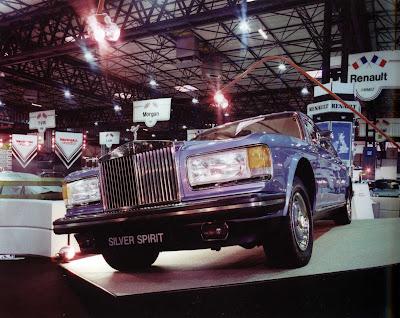 1980 Geneva Motor Show rolls-royce silver spirit