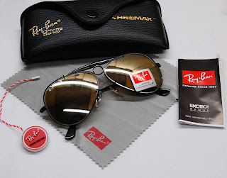 [WTS] Ray-Ban® Sunglasses Shooter+3138+Black+Brown+mirror