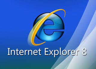 برنامج انترنت اكس بلولر 8 Internet Explorer