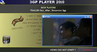 تحميل تنزيل برنامج مشغل فيديو جوال ثري جي بي 3GP Player 2010 برابط مباشر