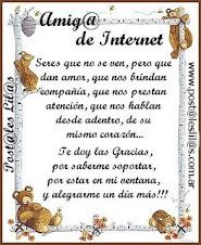 Premio a la amistad en internet