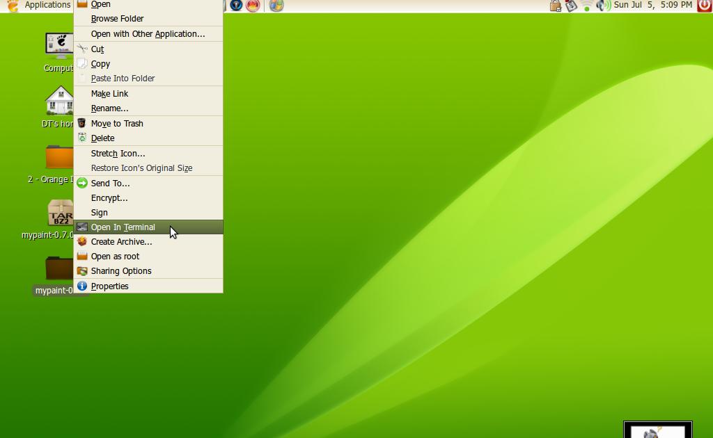 Ubuntu Paint Tool Sai