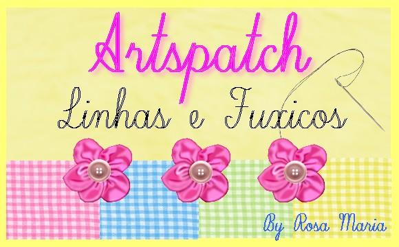 Artspatch Linhas e Fuxicos.