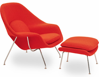 Womb Chair & Ottoman from Hive Modern