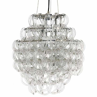 Glass links chandelier from MisoMod