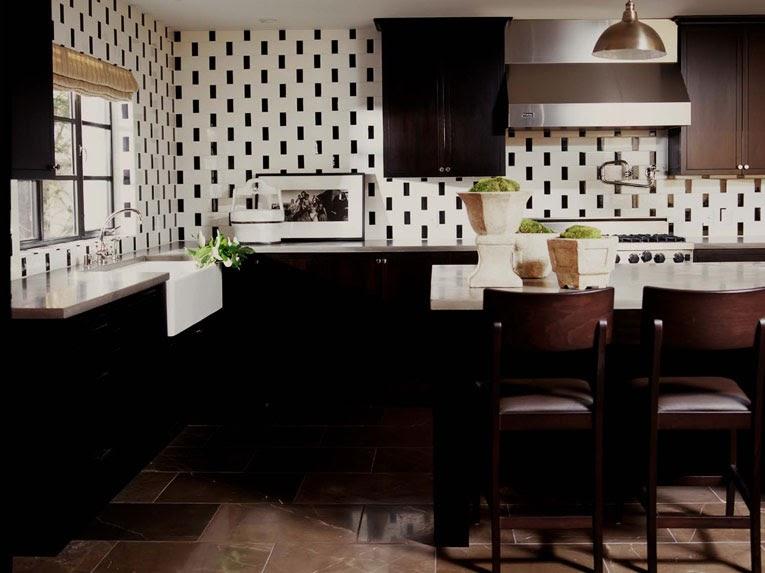 Black and white kitchen ideas best kitchen places for Best kitchen designs 2011