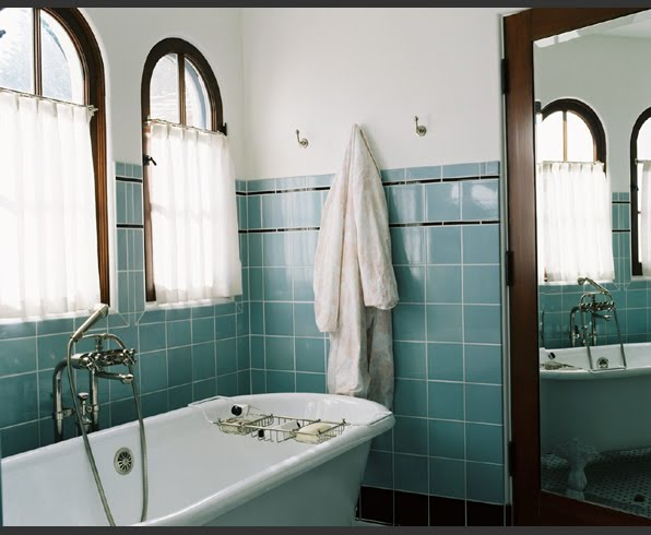 Retro Bathrooms Inspiration Decorating Design