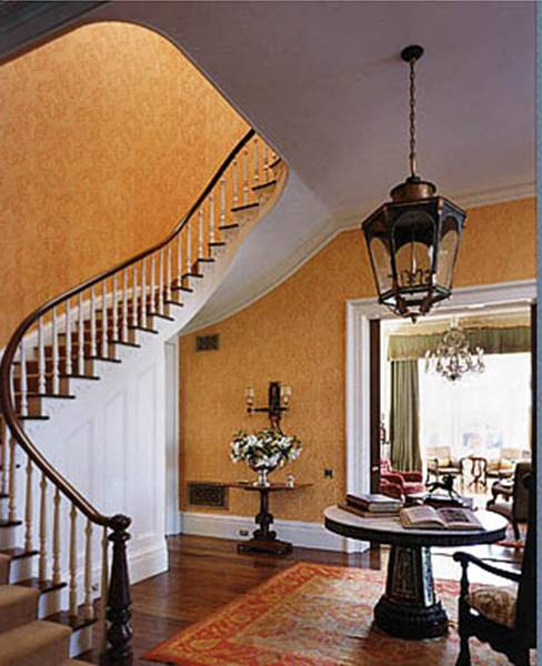 Large Round Foyer Light : Cococozy an elegant farm kitchen and house are a step