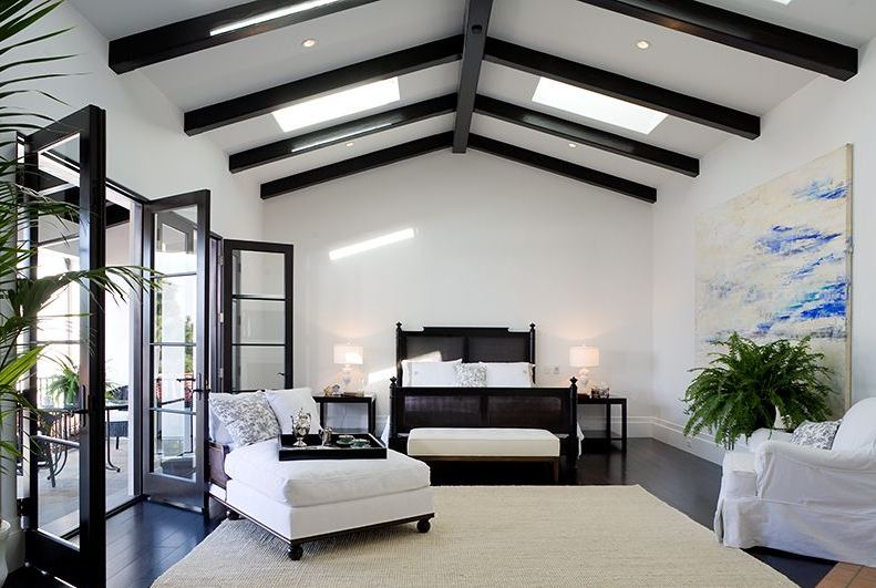 Amanda cromwell ceiling treatment inspiration for Beamed ceiling