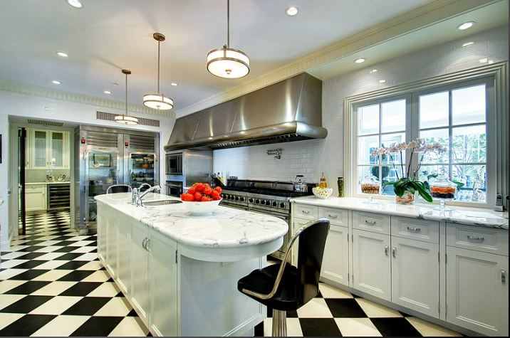 A look inside a 28 million paul williams designed holmby for O kitchen city of dreams