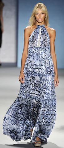 Model from Derek Lam's Spring 2011 Ready-to-wear fashion