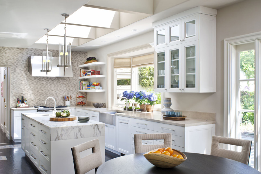 COCOCOZY SKYLIGHT IS THE LIMIT IN BRIGHTENING UP KITCHEN