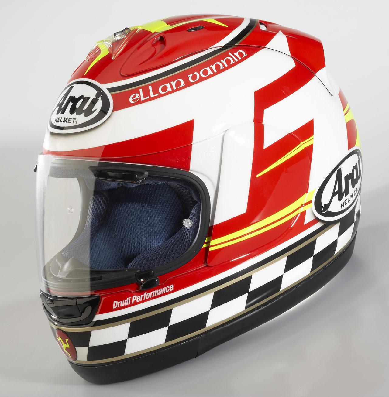 racing helmets garage arai rxgp ttseries limited