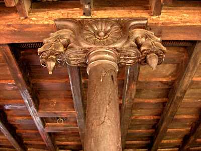 Artnlight the traditional keralite home dakshin chitra - Kerala style pillar design ...