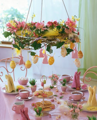 Artnlight spring table decor - Decoration paques table ...