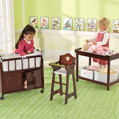 One step ahead wooden doll furniture Wooden baby doll furniture