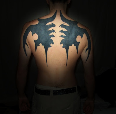Source url:http://1st-tribaltattos.blogspot.com/2010/04/tribal-wings-tattoo.