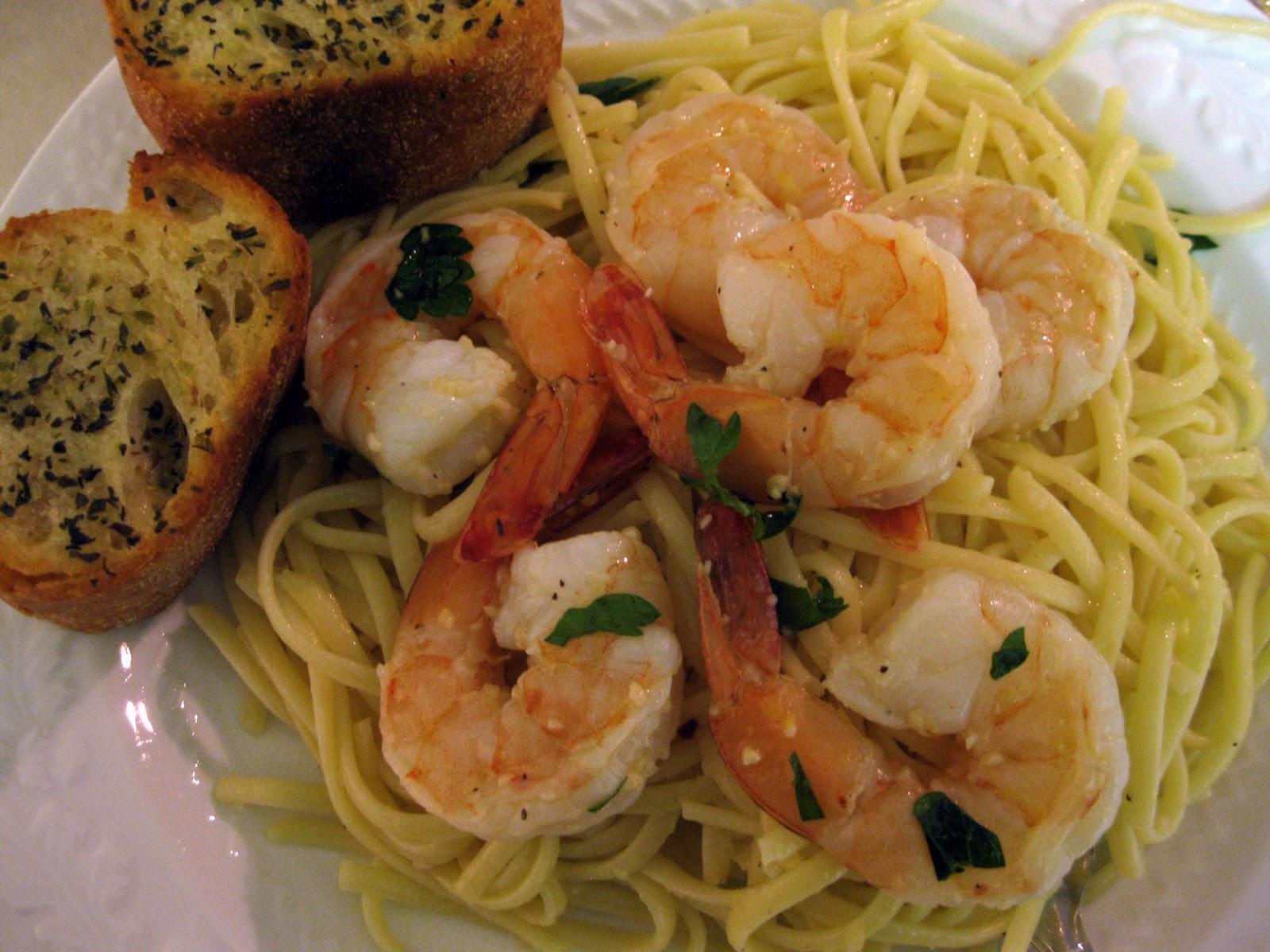 A Bitchin 39 Kitchen Linguine With Shrimp Scampi