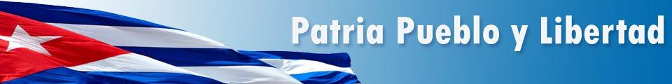 Patria Pueblo y Libertad