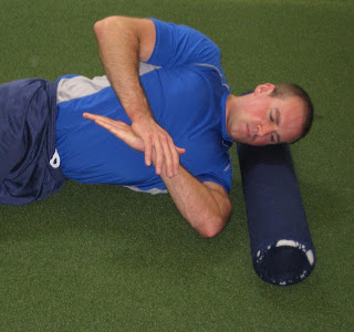 Sleeper Stretch- Sleeper Stretch for Tight Shoulders - YouTube