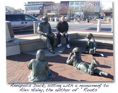 Annapolis Dock, Monument to Alex Haley
