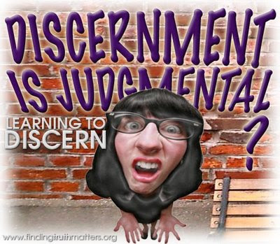 Why we need to learn to discern