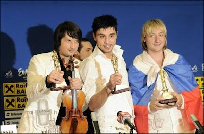 Победители Евровидения Билан Плющенко Мартон