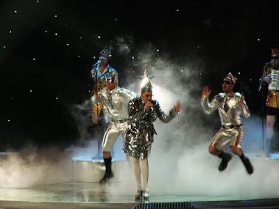 Верка Сердючка, на Евровидении Lasha Tumbai
