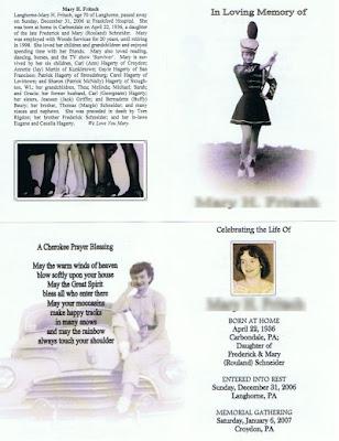 McNally Custom Memorial Folder