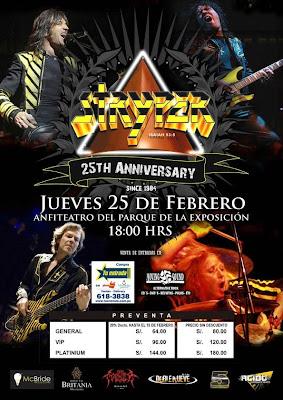 Concierto de Stryper en Lima