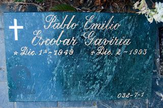 Tumba del Patrón: Pablo Escobar