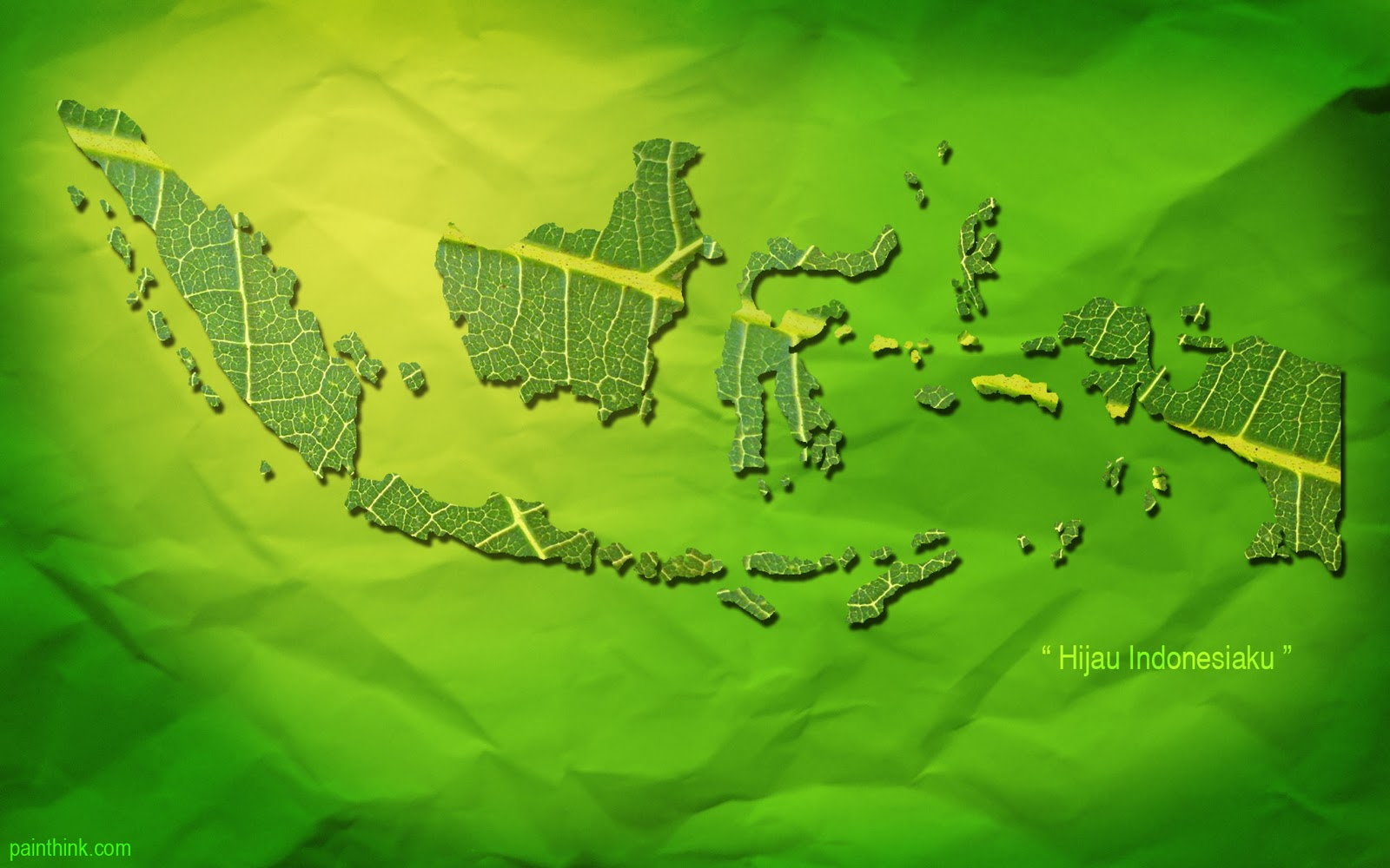 wallpaper peta indonesia daun