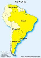 paises  , argentina  , bolivia  , paraguai, venezuela, mercados