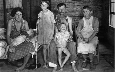 The great depression social classes