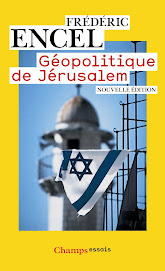 GEOPOLITIQE DE JERUSALEM de Frédéric ENCEL